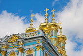 Detail of the chapel of the Catherine Palace — Stock Photo