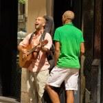 Street musicians — Stock Photo #31631217