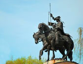 Monument to the Russian princes Boris and Gleb — Stock Photo
