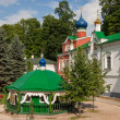 Monastery in Pskov region — Stock Photo