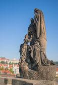 Escultura antigua en la historia del evangelio — Foto de Stock