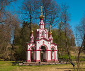 Chapel in the woods — Foto Stock
