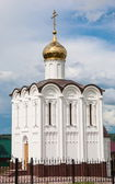 White church in Maloyaroslavets — Stock Photo