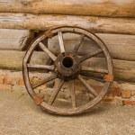 Vintage wheel — Stock Photo #49943883