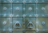 Puertas de hierro — Foto de Stock