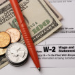 Stock Photo: Form W-2 Wage and Tax Statement