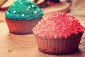 Sweet easter christmas birthday cakes  — Stock Photo