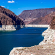 Hoover Dam, between Arizona and Nevada — Stock Photo