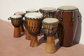 African Drums — Stockfoto