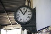 Relógio da estação — Fotografia Stock