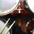 Drums from above — Stock Photo
