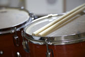 Drumset with Sticks — Stock Photo