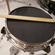 Drums with Sticks — Stock Photo