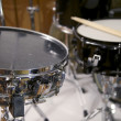 Drums in a Band — Stock Photo