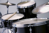 Drums in a drum Kit — Stock Photo