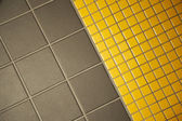 Flagging and tiling ground texture — Stock Photo