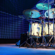 Drumset on stage for a live concert — Stock Photo #37882837