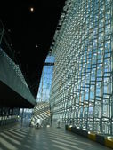 Inside harpa building — Stock Photo