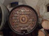 Artistic barrel — Stock Photo