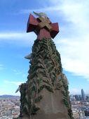 Column at sagrada familia — Stock Photo