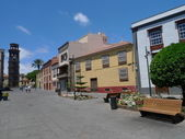 Laguna staré město v tenerife — Stock fotografie