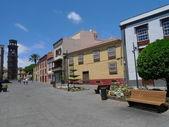 Laguna old town in tenerife — Stock Photo