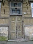 Puerta abandonada — Foto de Stock