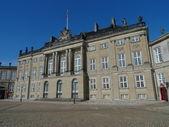 Copenhagen royal palace — Stock Photo