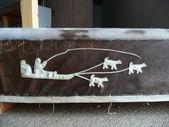 Inuit decoration — Stock Photo