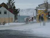 Winter in reykjavik — Stock Photo