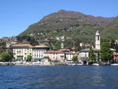 Bellagio como lake — Stock Photo