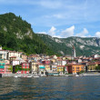 Varenna como lake — Stock Photo