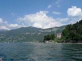 View of como lake — Stock Photo