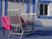 Seaside terrace — Stock Photo