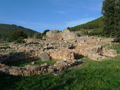Palmavera nuraghe at alghero — Stock Photo