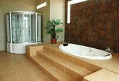New concept modern luxury bathroom interior design — Stock Photo