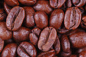 Coffee beans close up/ macro — Stock Photo