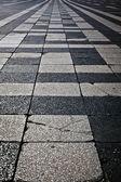 Decorative marble-stone mosaic texture — Stock Photo