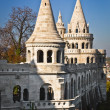 Fisherman Bastion on the Buda Castle hill in Budapest, Hungary — Foto Stock