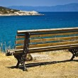 Panoramview at Aegeseon Sithonia, Halkidiki penisula — Stock Photo #17693439