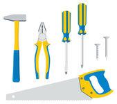 Tool Kit For Repair — Stock Vector