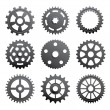 Pinions And Gears — Stock Vector #22033791