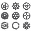 Pinions And Gears — Stock Vector #22033803