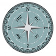 Stock Vector: Compass