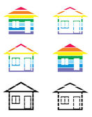 Apartament rysunek — Wektor stockowy