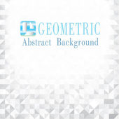 Geometric abstract background. — Stock Vector
