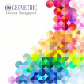 Multicolored mosaic background — Stock Vector
