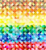 Tło wielobarwny mozaika — Wektor stockowy