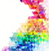 Fondo de mosaico multicolor. — Vector de stock