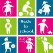 Back_to_school - Stockvektor